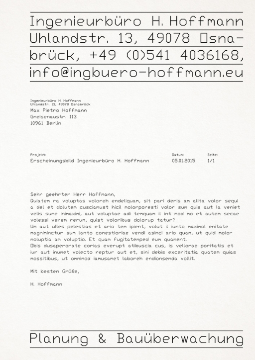 Studio Max Pietro Hoffmann – Design and Consulting H. Hoffmann